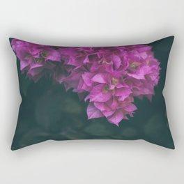 Bougainvillea Flower Rectangular Pillow
