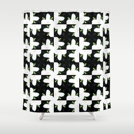 Katze Shower Curtain