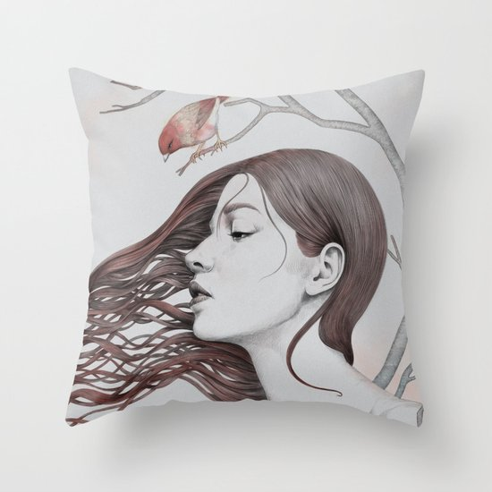 203 Throw Pillow