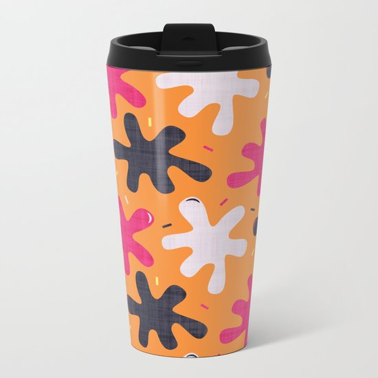 Throw it against the wall and see what sticks Metal Travel Mug