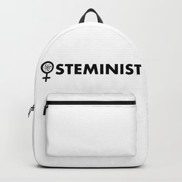 Steminist with symbol Backpack