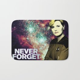 Never Forget Tasha Bath Mat
