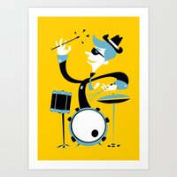 drums Art Prints featuring Drums by Arthur Porto