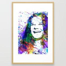 J Joplin Framed Art Print