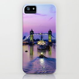 Early morning at Tower Bridge iPhone Case
