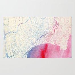 Nizza Map Rug