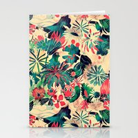 jungle Stationery Cards featuring Jungle by Demi Goutte