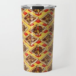 All the Vegemite on Toast, Yellow and Red Travel Mug