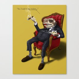 Fly in My Soup (Colour) Canvas Print