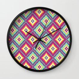 Indi-abstract#07 Wall Clock