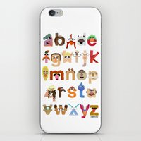 muppet iPhone & iPod Skins featuring The Great Muppet Alphabet (the sequel) by Mike Boon
