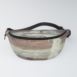 Repaired wooden shipboard Fanny Pack