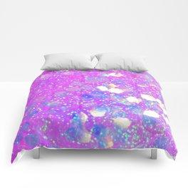 Irridescent Love Comforters