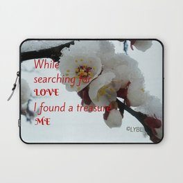 Love Yourself  Merry Christmas Edition Treasure Laptop Sleeve