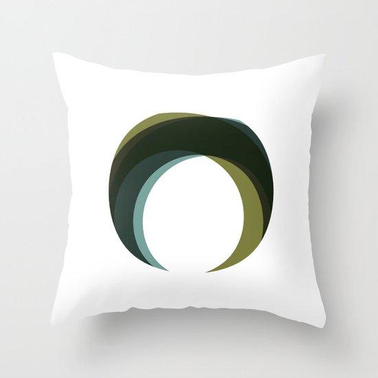 #251 Palantír – Geometry Daily Throw Pillow