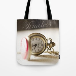 Timeless Pocket Watch Tote Bag