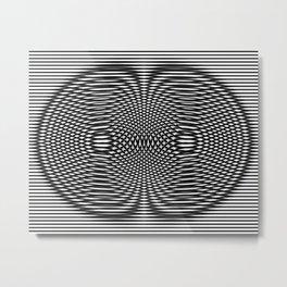 Auric Torus Metal Print