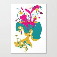 Liquid thoughts:Boy Canvas Print