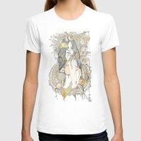 blossom T-shirts featuring //blossom// by Cassidy Rae Marietta