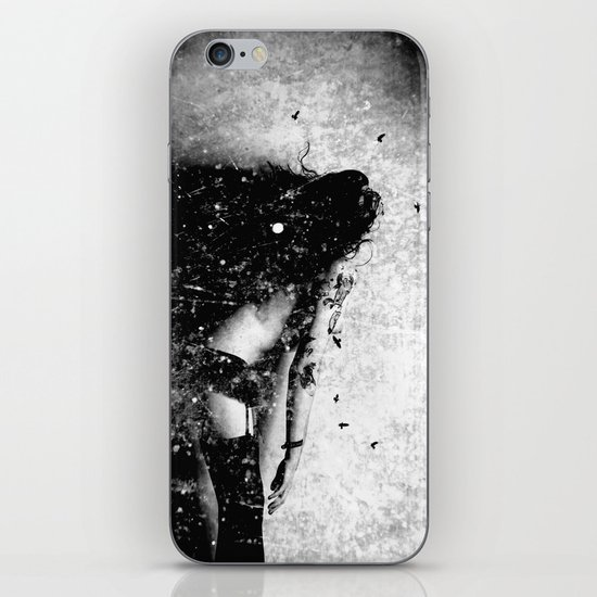 Nude art - time iPhone & iPod Skin