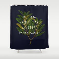 The Theory of Self-Actualization II Shower Curtain
