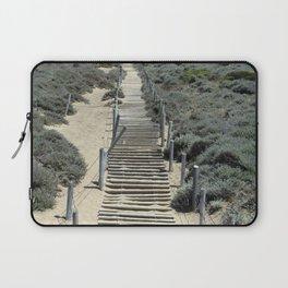 Carol Highsmith - Steps in the Sand Laptop Sleeve