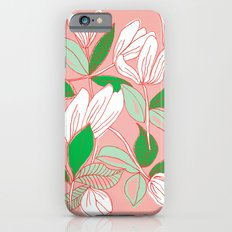 Floating Tulips Slim Case iPhone 6s