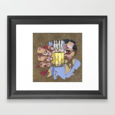 Cheers ! (Santé !) Framed Art Print