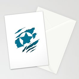 American Blue Flag Pride Stationery Cards
