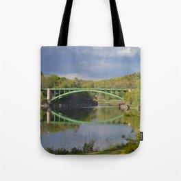 Summer Storm Clouds - Delaware River Tote Bag