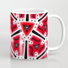 Fidget from the Black & White & Red All Over Collection Coffee Mug