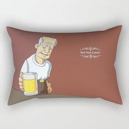 See You Later Rectangular Pillow