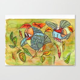 nice place to lay an egg!! Canvas Print