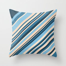 Sahara Storm Throw Pillow