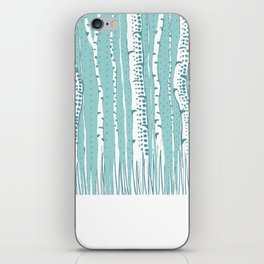 winter illustration iPhone Skin