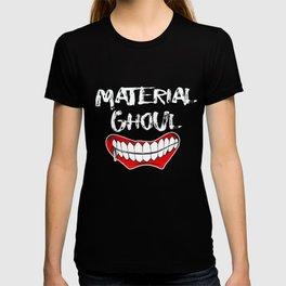 Top Fun Material Ghoul Halloween Design T-shirt