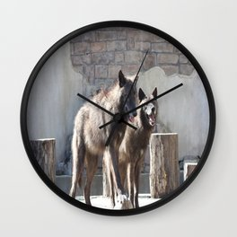 Siblings Wall Clock
