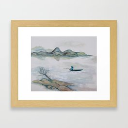 Where Mountains are not Mountains Framed Art Print