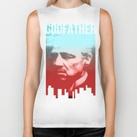 godfather Biker Tanks featuring GODFATHER - Do I have your Loyalty? by Bright Enough💡