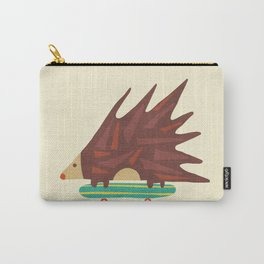 Hedgehog in hair raising speed Carry-All Pouch
