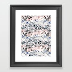 Japanese teahouse Framed Art Print