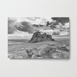 Haytor Tor Metal Print