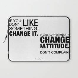 Angelou Attitude Laptop Sleeve