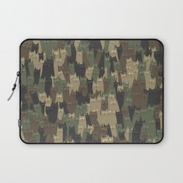 Camouflage cats Laptop Sleeve