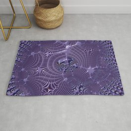 The relationships - An abstract fractal illustration Rug