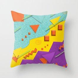 Nostalgic Pattern Throw Pillow