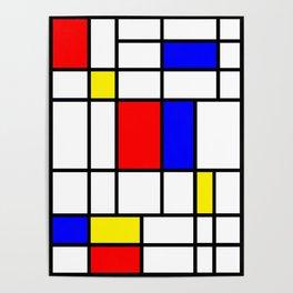 Mondrian #64 Poster