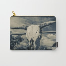 Western Skull Carry-All Pouch