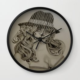 Living Dead Girl Wall Clock