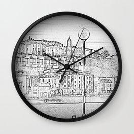 Bristol Harbourside Wall Clock